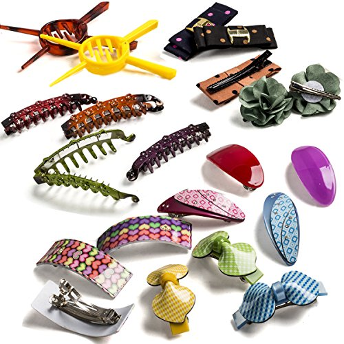 Barrettes-for-Girls-Hair-Clips-for-Women-Assorted-Hair-Accessory-by-CoverYourHair