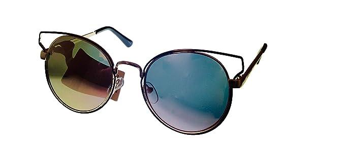 Amazon.com: Lucky Brand Kelsey - Gafas de sol redondas de ...