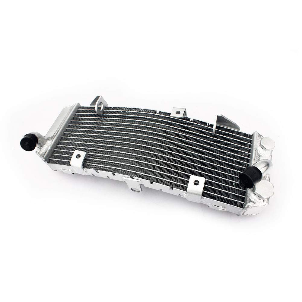 TARAZON Moto alluminio radiatori radiatore di raffreddamento motore per Yamaha XP500 TMAX T-MAX 500 1997-2011