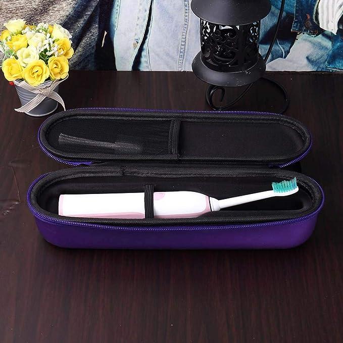 Yeshai3369 Caja de cepillo de dientes eléctrico portátil, estuche de viaje universal para cepillo de dientes recargable multicolor: Amazon.es: Belleza