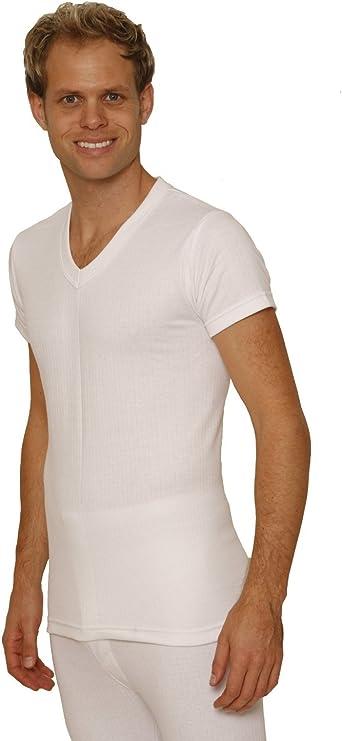 Octave/® Herren Thermo-Unterw/äsche Lange /Ärmel Shirt//Weste//Top