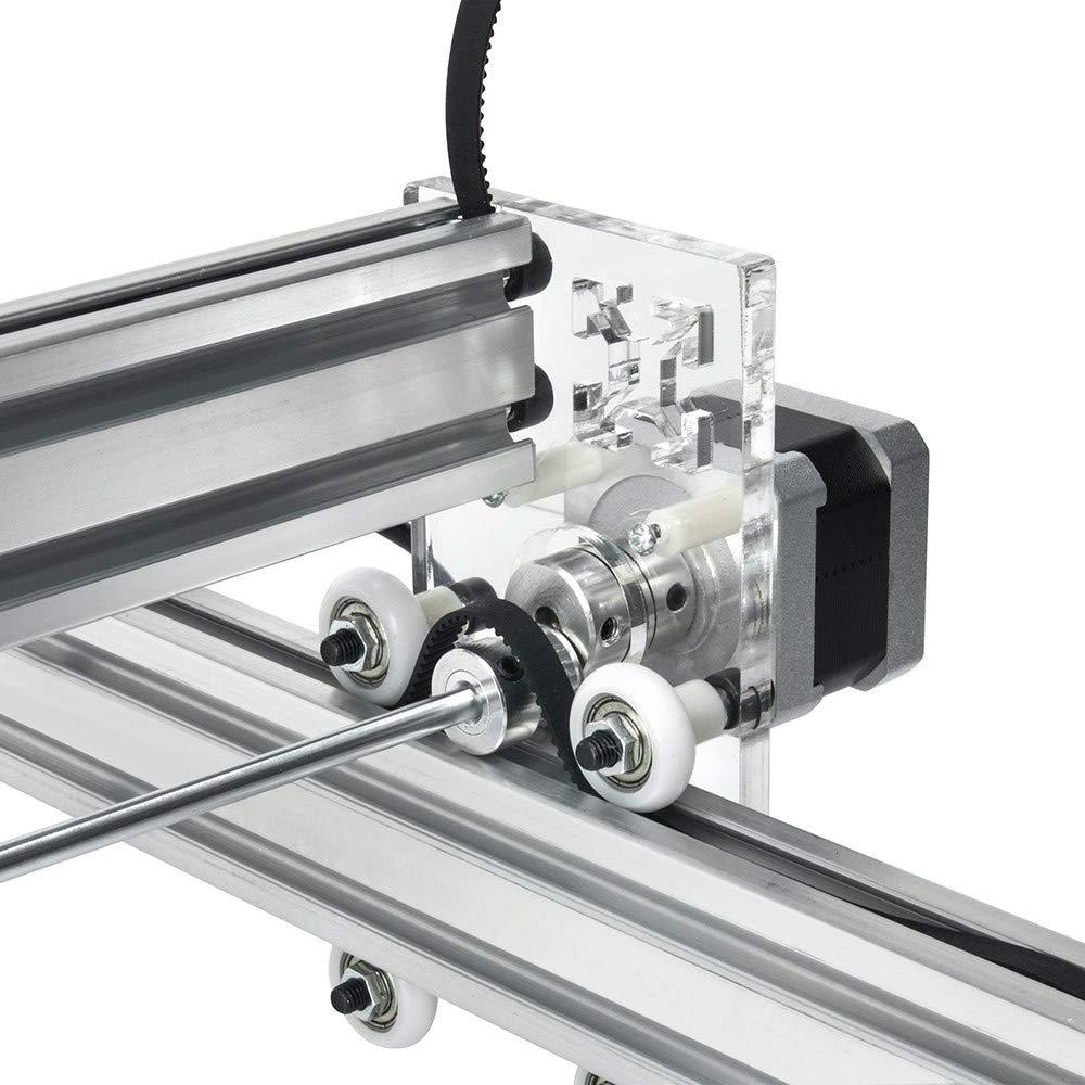Bambou HUKOER 7000MW Machine Laser Kits de Bricolage 40 /× 30cm Machine de D/écoupe de Gravure au laser CNC pour Cuir Plastique Bois Corne