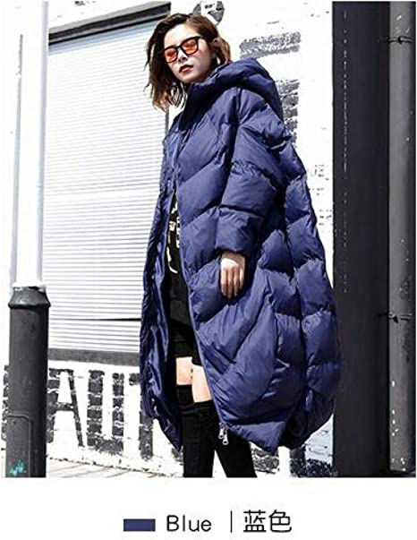 GUXIU Piumino lungo di qualità Donna Fashion Piumini