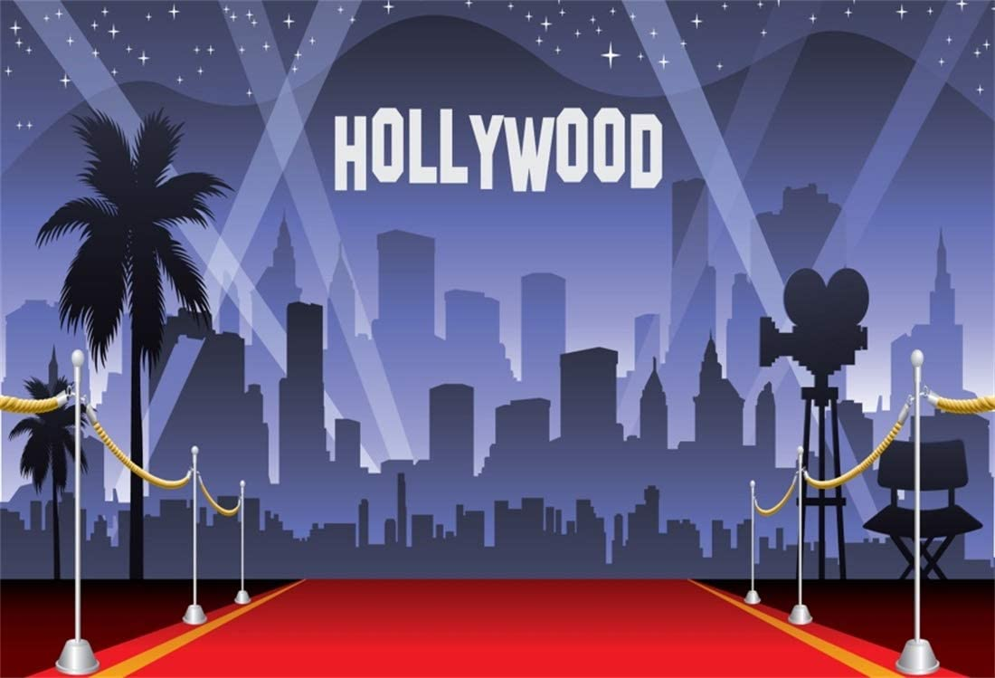Amazon Com Yeele 7x5ft Hollywood Red Carpet Backdrop Movie Night Stage Photography Background Celebrity Event Party Premiere Banner Photo Studio Props Kid Adult Artistic Portrait Activity Decoration Wallpaper Camera Photo