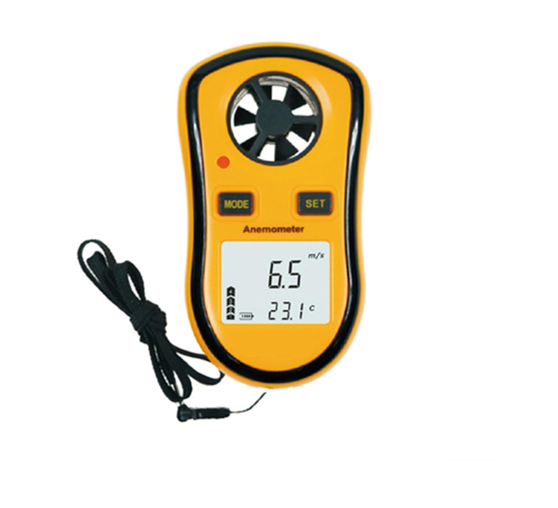 Anemómetro, YH-THINKING Digital viento velocidad medidor termómetro Mini viento velocidad calibre aire velocidad medidor viento medición F1049