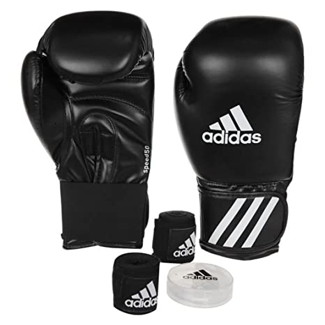 nuove immagini di vendita outlet miglior prezzo per Kit da pugilato Speed 50 Adidas, guanti da pugilato, fasce ...