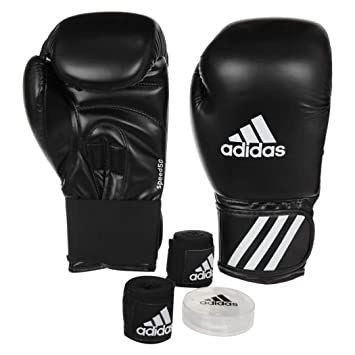 d2908d554 adidas Kit Boxe speed 50 (gants de boxe+ bandes+ protège-dents) (08