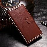 Motorola Moto G4 Plus Brown Classic Wallet Flip Case Cover