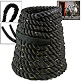 Cheap Akonza Poly Dacron Battle Rope 2″ Sports Training 50 ft Battling Battle