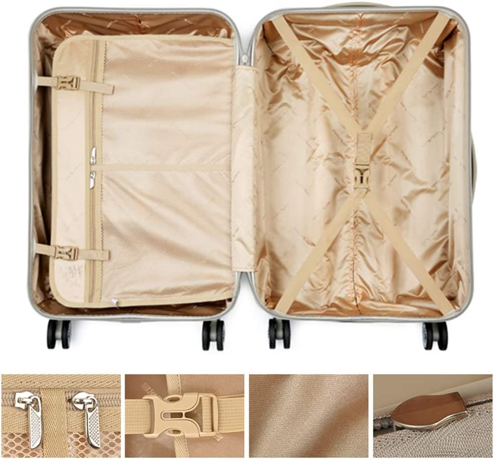 Color : A, Size : 3825.555 cm GYZ Trolley Universal Wheel Suitcase Suitcase Men and Women Trailer Box Four Sizes Optional