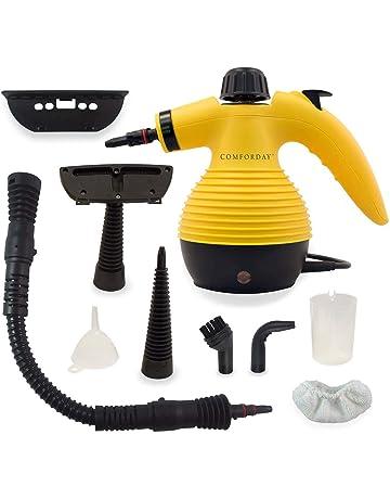 Comforday Limpiador Portátil Máquina Limpiador a Vapor Eléctrica con 9 Piezas de Accesorios Incluidos, Potencia