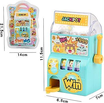 Tnfeeon Bingo Ball Candy Máquina expendedora, Juego de Mesa de lotería de sorteo de Mano Juguetes cognitivos de Aprendizaje temprano para niños y niñas(#1): Amazon.es: Juguetes y juegos