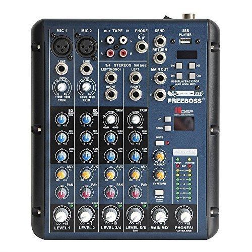 Freeboss Smr6 Stereo Channels Audio