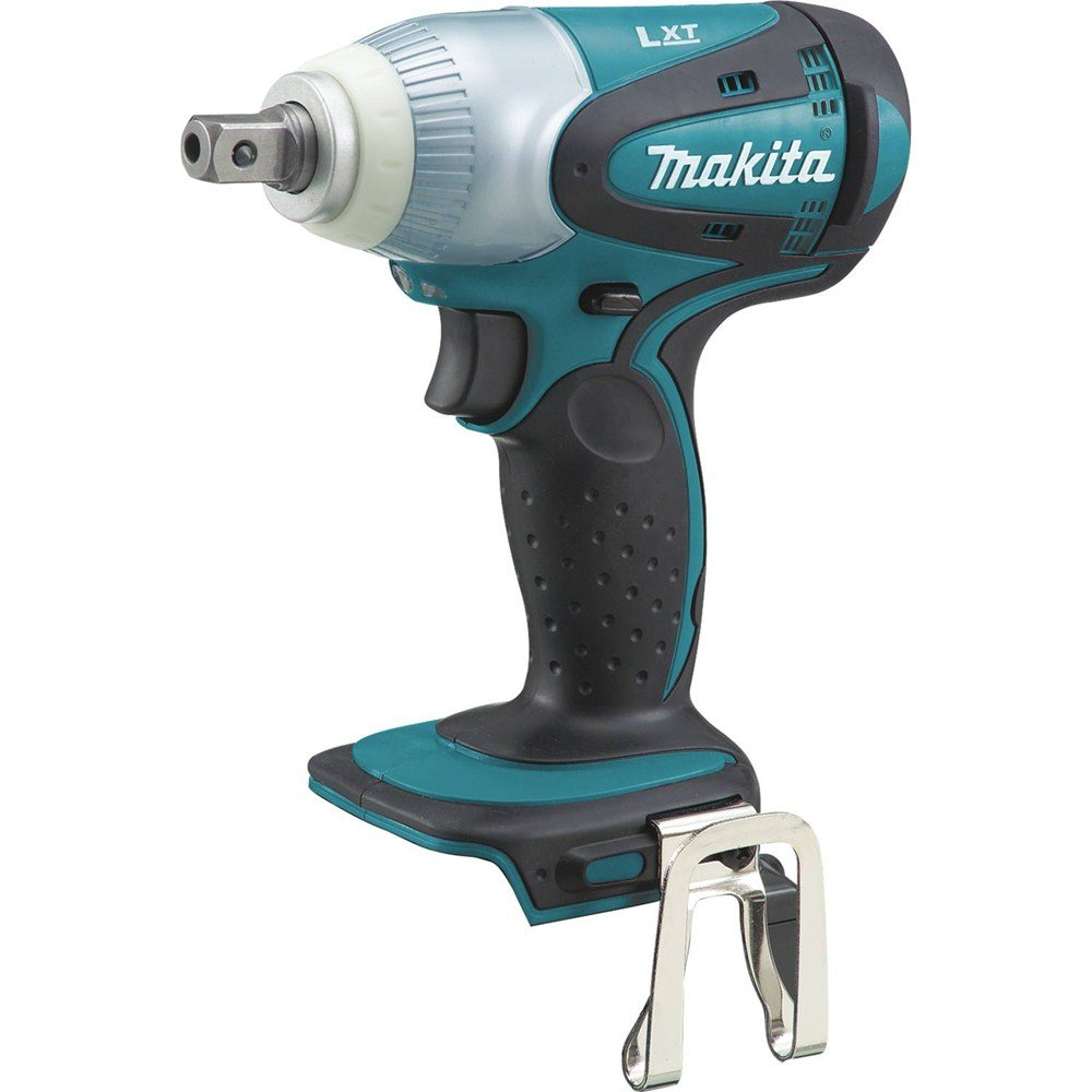 Makita XWT05Z 18V LXT Lithium-Ion Cordless 1 2 Sq. Drive Impact Wrench, Tool Only