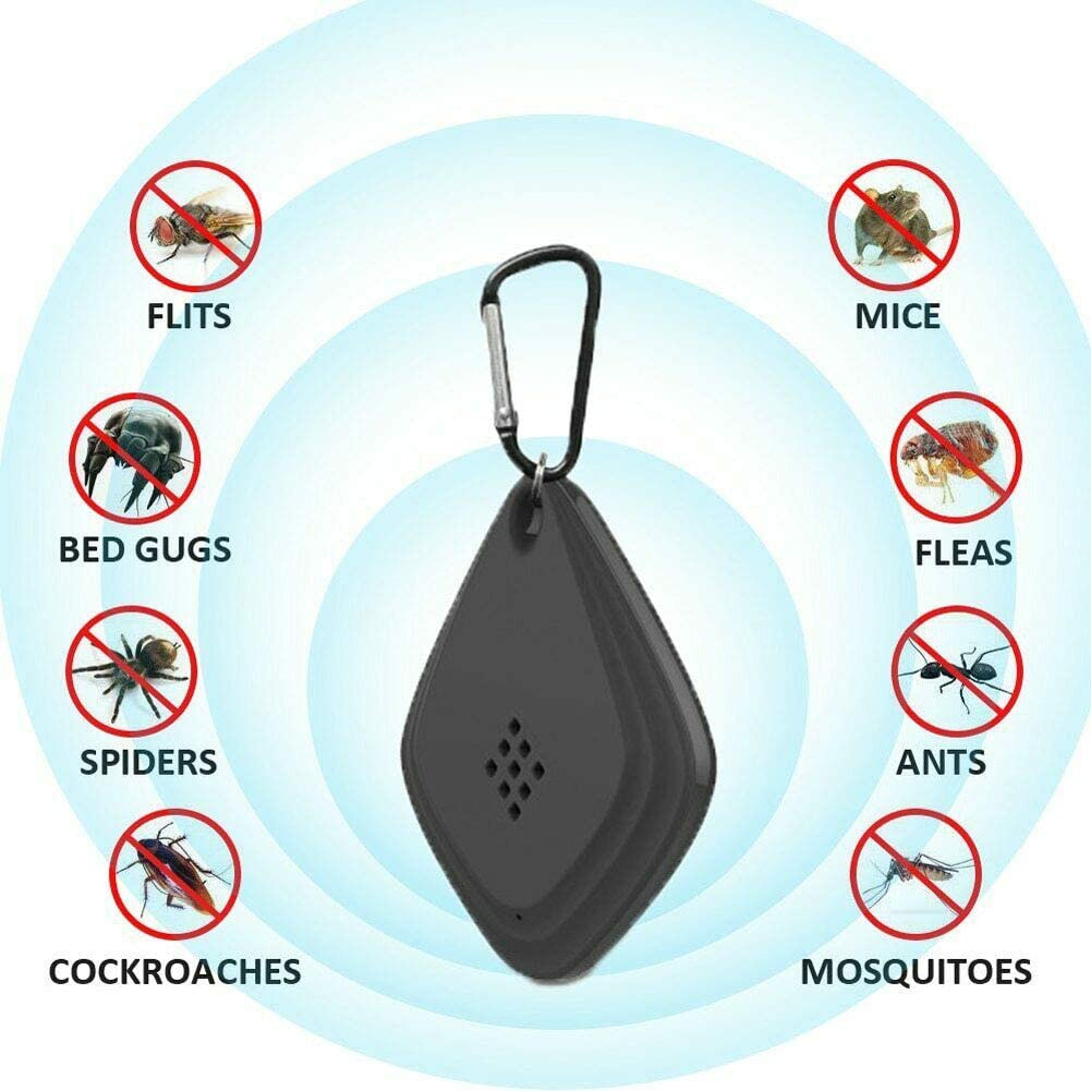 Banma Tech Ultrasonic Flea /& Tick Repeller Chemical-free Safe on pets-Best Xmas Gifts