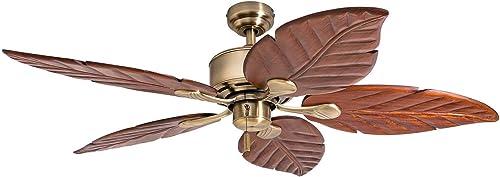 Honeywell Ceiling Fans 50502-01 Sabol Palm 52″ Ceiling Fan