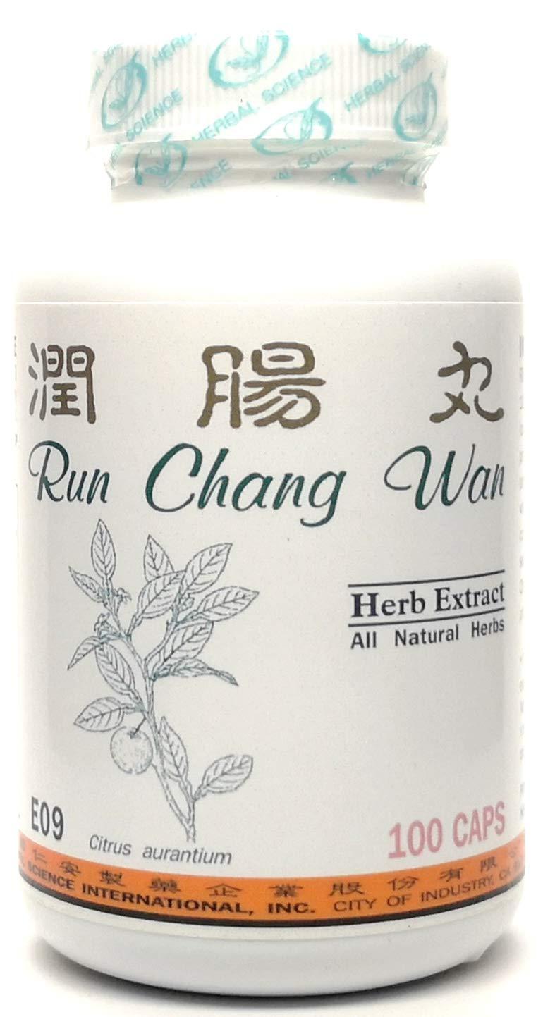 Smooth Move Dietary Supplement 500mg 100 Capsules (Run Chang Wan) E09 100% Natural Herbs