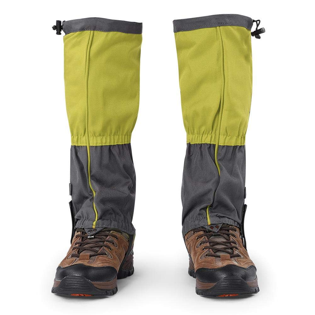 Polainas de Pierna,1 Par Polainas Nieve Respirable Cubierta de Proteccion de Nieve de Lluvia de Gaiter Antipolvo Barro Gaiter Legging para Hombres Mujeres Senderismo Escalada Caza Ciclismo