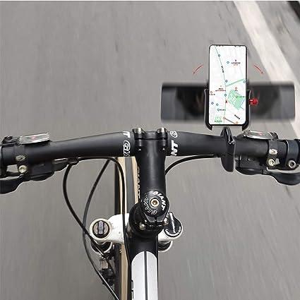 evomosa Porta Cellulare per Bicicletta Supporto Universale per Cellulare in Acciaio Inossidabile per Bici da Manubrio per Smartphone da 4-7 pollici