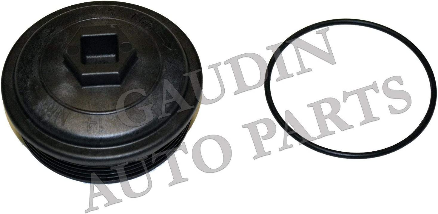 OKAY MOTOR Fuel Filter Cap W//O-ring for 2003-2007 Ford F-250 F-350 F-450 F-550 E-350 Truck 6.0L Diesel
