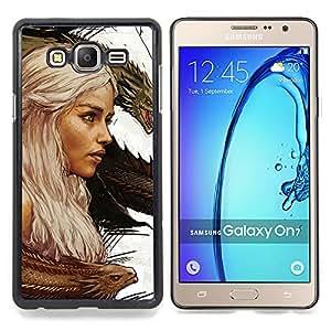 SKCASE Center / Funda Carcasa protectora - Targaryen dragón Madre;;;;;;;; - Samsung Galaxy On7 O7