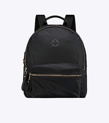 0ba15c47183 Amazon.com: Tory Burch Tilda Nylon Backpack - Black: Shoes