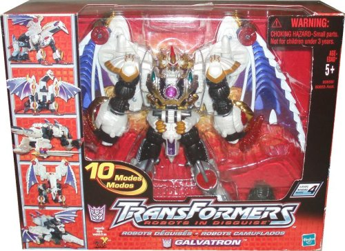 Transformers Galvatron Robots Disguise Transformation
