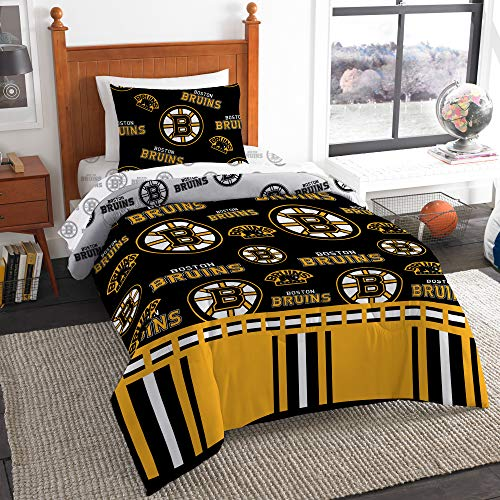Official BostonBruins Bed in Bag Set Twin