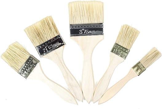 5 Pack pinceles de pintura chip, cbtone Chip de pintura y pinceles ...