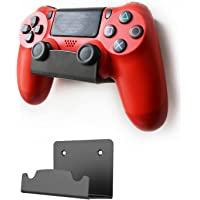 Monzlteck New Wall Mount For PS4 Controller(DualShock 4),Custom Design,Screw-Free Application(Single)