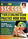 Kiran's SSC CGL Tier – II Online Exam Practice Work Book (Get Free CD & Scratch Card with this Book) - 2011