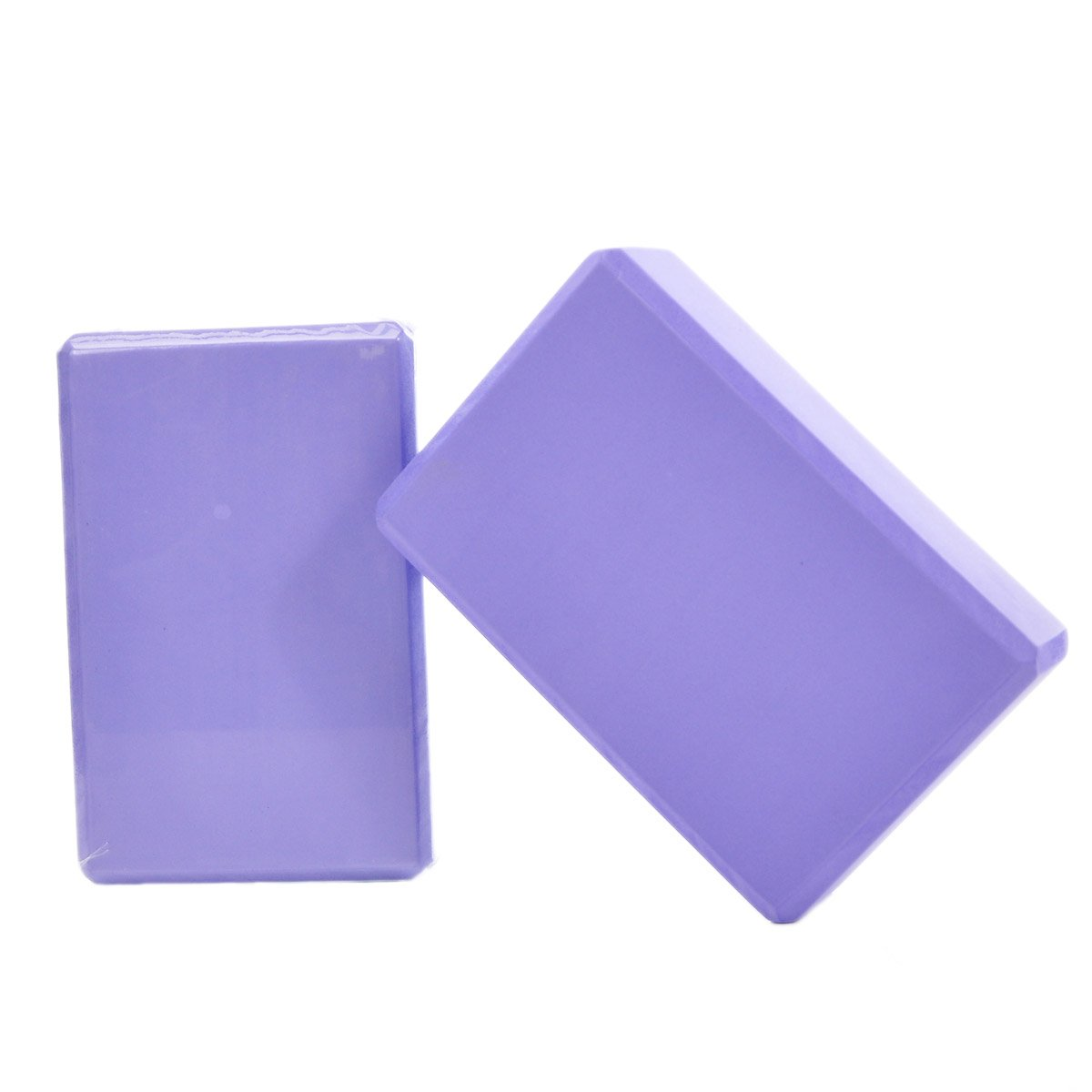 W&B Lion Yoga Blocks 2 Pack Available in 3 Colors Large Size for Balance and Stability in Yoga Poses