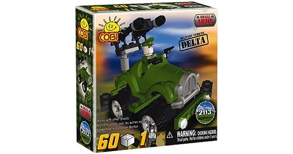 Cobi-vehículo Delta pequeño ejército 2113