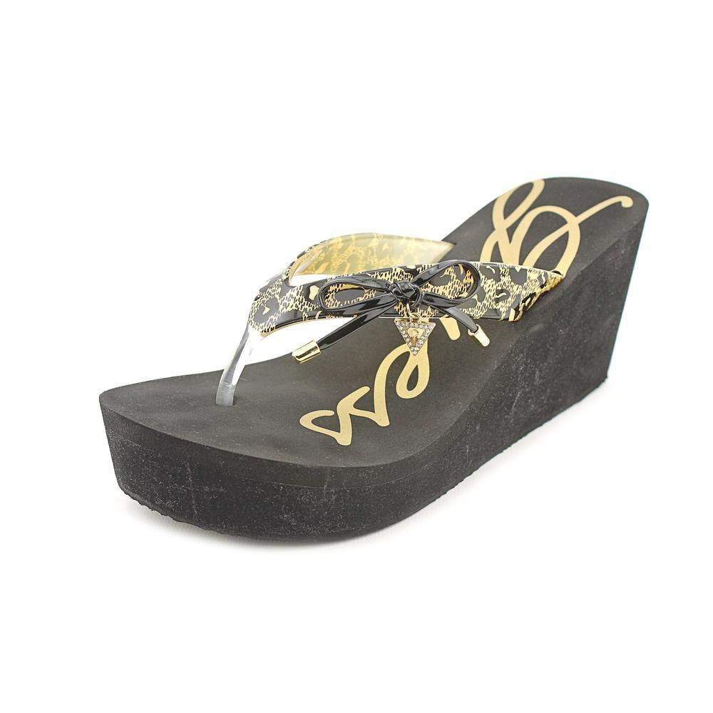 7bbc19186 Guess Syona Slip On Platform Wedge Sandals