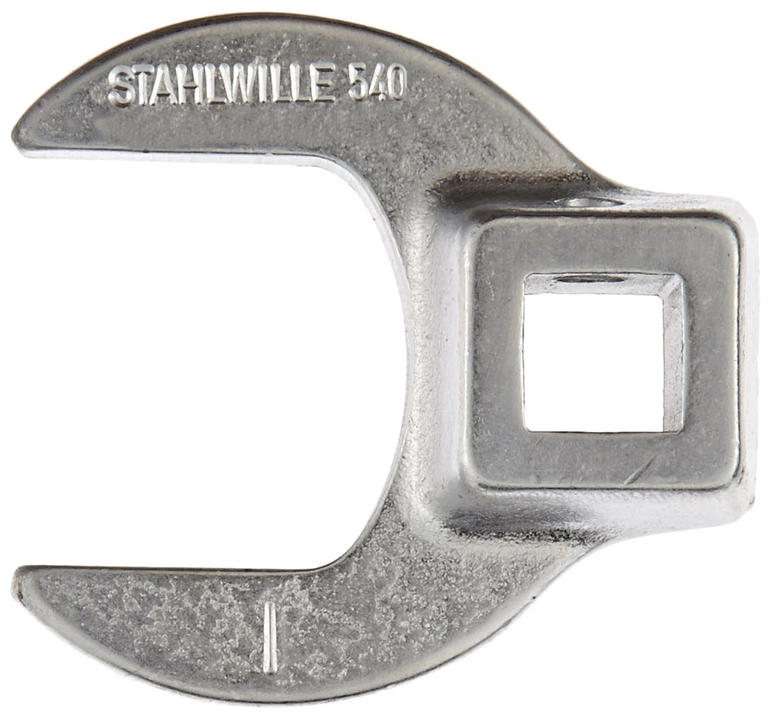 Stahlwille 540A-1 Steel Crow Foot Spanner, 3/8'' Drive, 1'' Diameter, 47mm Length, 45mm Width