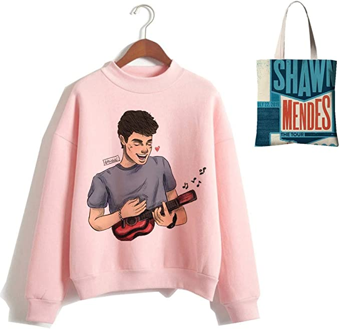 Bolsa de Lona Shawn Mendes Rosado Camisa de ...