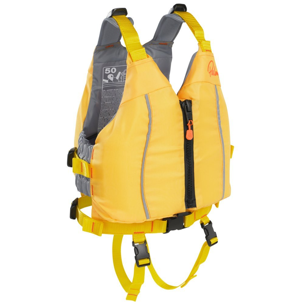 Palm QuestジュニアPFD Kayak Buoyancy Aid 2016 – Saffron B00XJL0T8U  Junior XS / S