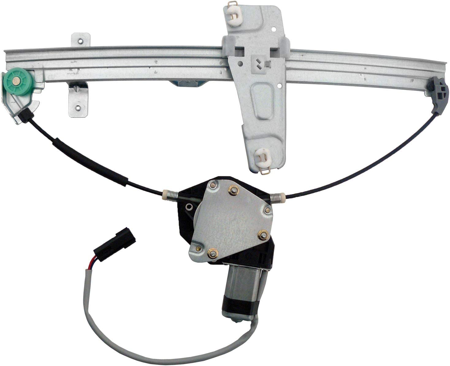 ACDelco 11A35 Professional Front Driver Side Power Window Regulator with Motor
