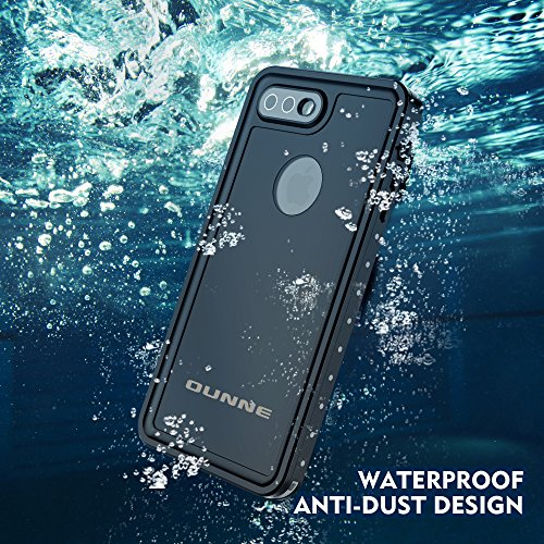 OUNNE iPhone 7 Plus/8 Plus Waterproof Case, Underwater Full Sealed Cover Snowproof Shockproof Dirtproof IP68 Certified Waterproof Case for iPhone 7 Plus/8 Plus 5.5inch by OUNNE (Image #2)
