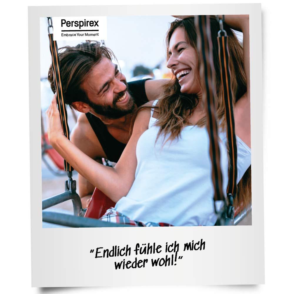 Perspirex Antitranspirant gegen starkes schwitzen für Männer - Deo Roller für bis zu 5 Tage Frischeschutz - Strong 20ml