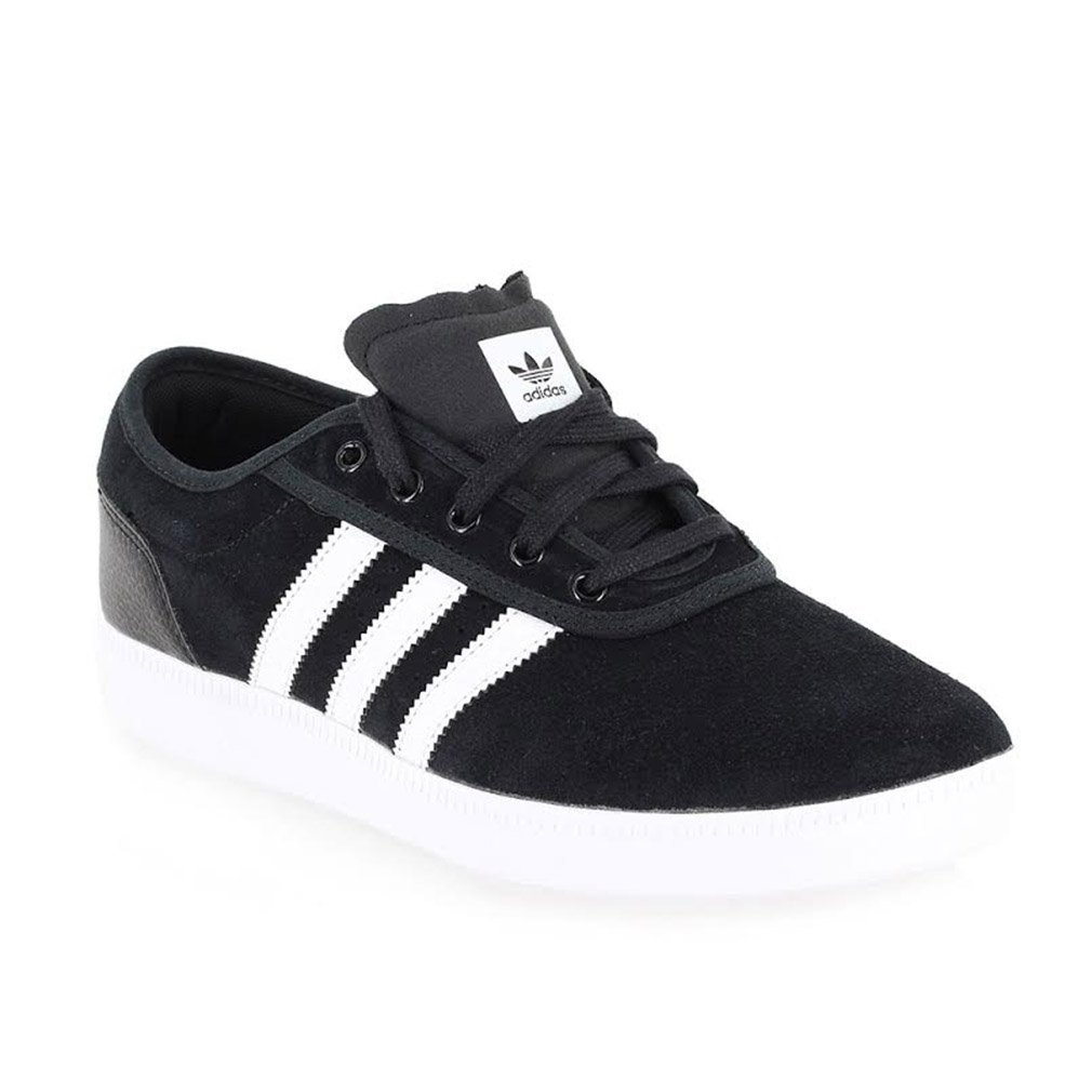Adidas Men's Adi-Ease Lace up Sneaker B00U6IB70I 11.5 D(M) US Black / Running White Ftw