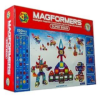 Magformers Deluxe Super Brain Set (220-pieces)
