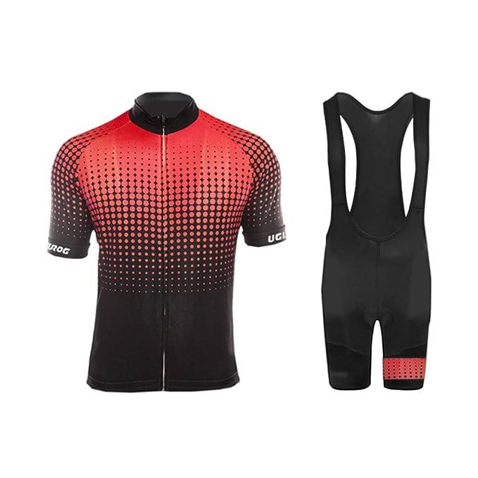1 opinioni per Uglyfrog Tuta Ciclismo Primavera/Estivo Maglia Manica Corta e Pantalocini MTB