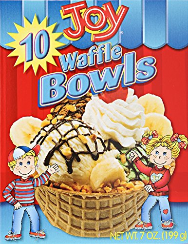 Joy Cone Waffle Bowls, 10 ct for sale  Delivered anywhere in USA