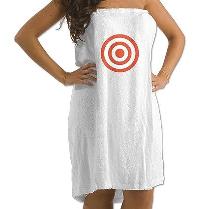 2d40847d55 Image Unavailable. Image not available for. Color  Vector Design Target  Prints Bath Towel Wrap Womens Spa ...