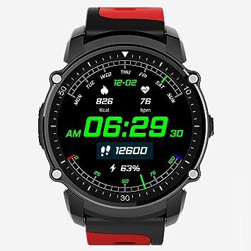 OOLIFENG Reloj Inteligente Deportes Fitness Tracker Con Pulsómetros ...