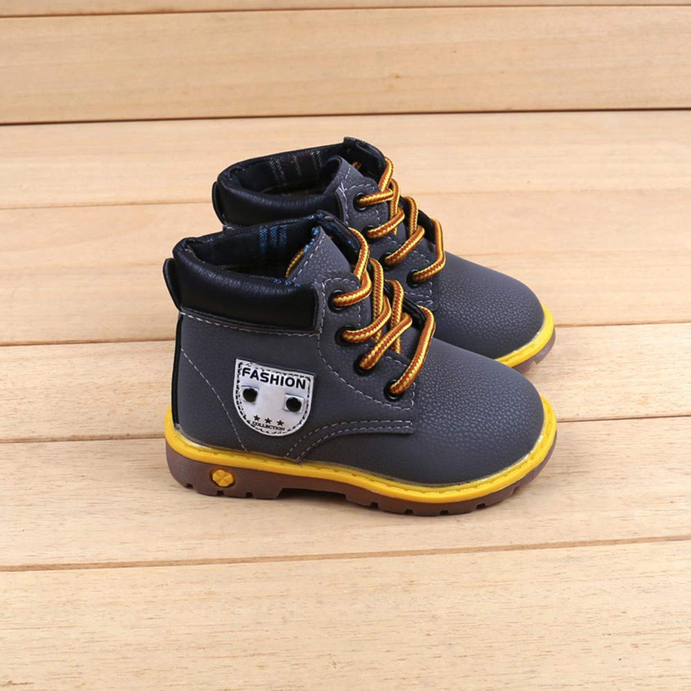 SMALLE ◕‿◕ Clearance,Baby Children Warm Boys Girls Martin Sneaker Boots Kids Baby Casual Shoes by SMALLE (Image #3)