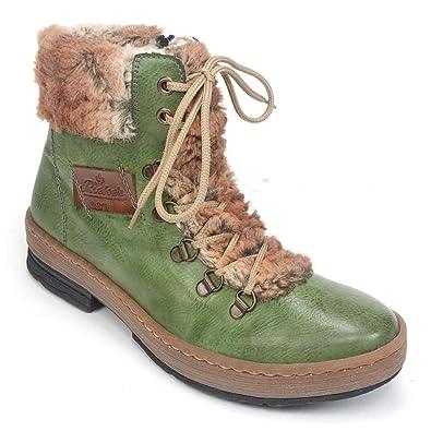 04993469106 Rieker Felicitas Combat Boot (Z6743)