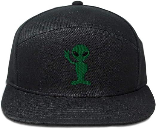 Custom Soft Baseball Cap No Alien Allowed B Embroidery Dad Hats for Men /& Women