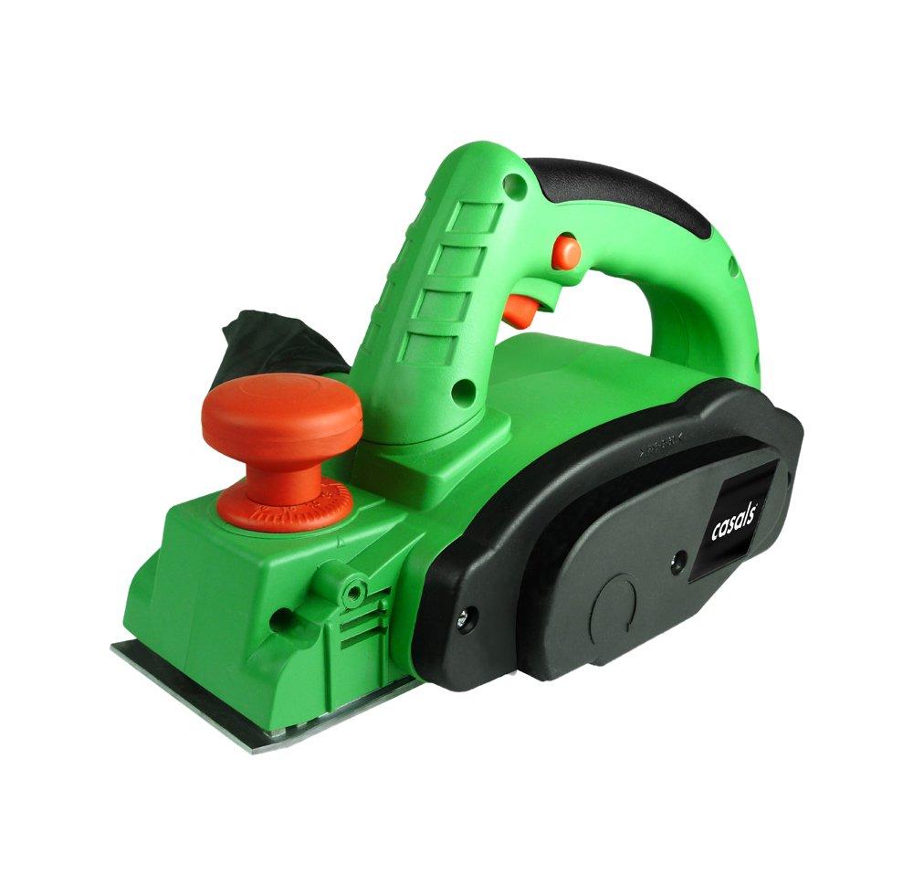 Casals VCE710 - Cepillo potencia 710 W (17.000 rpm, con guí as laterales y bolsa incluidos) color verde y negro con guías laterales y bolsa incluidos) color verde y negro C10030000